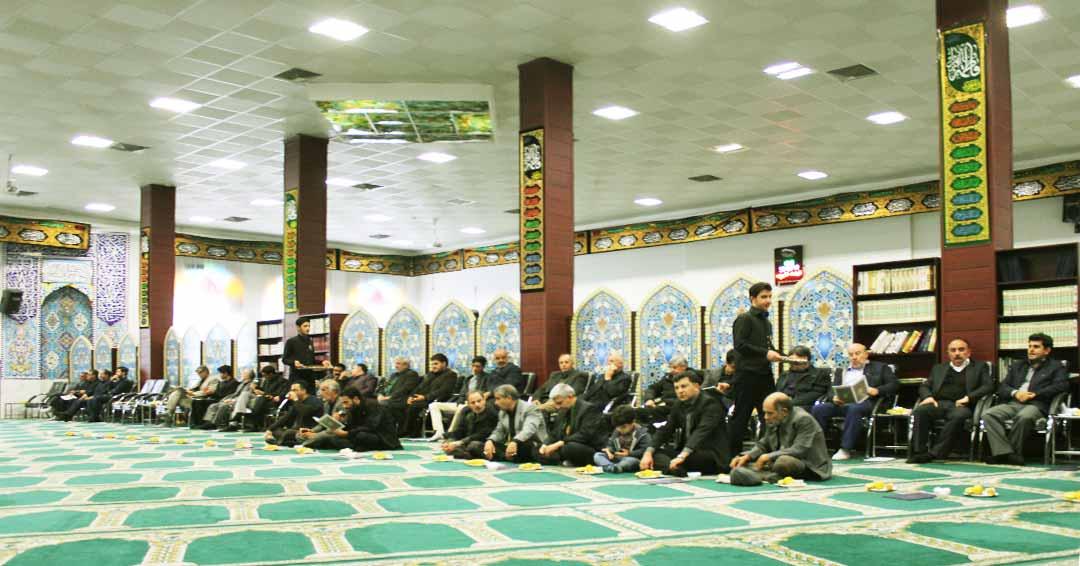 مسجد الزهرا احمدآباد مشهد