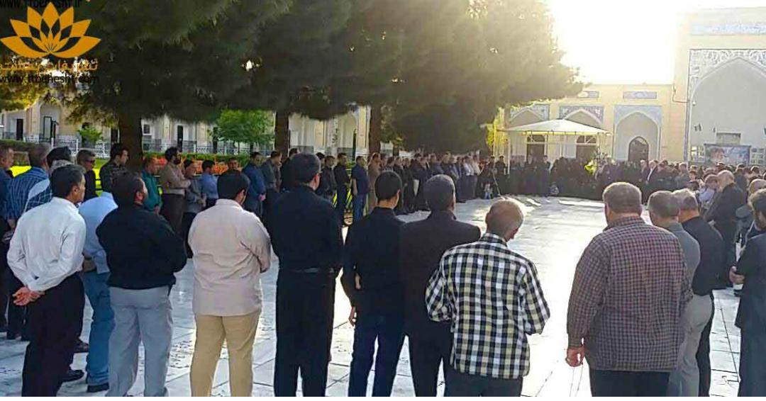خدمات ترحیم بر سر مزار در مشهد