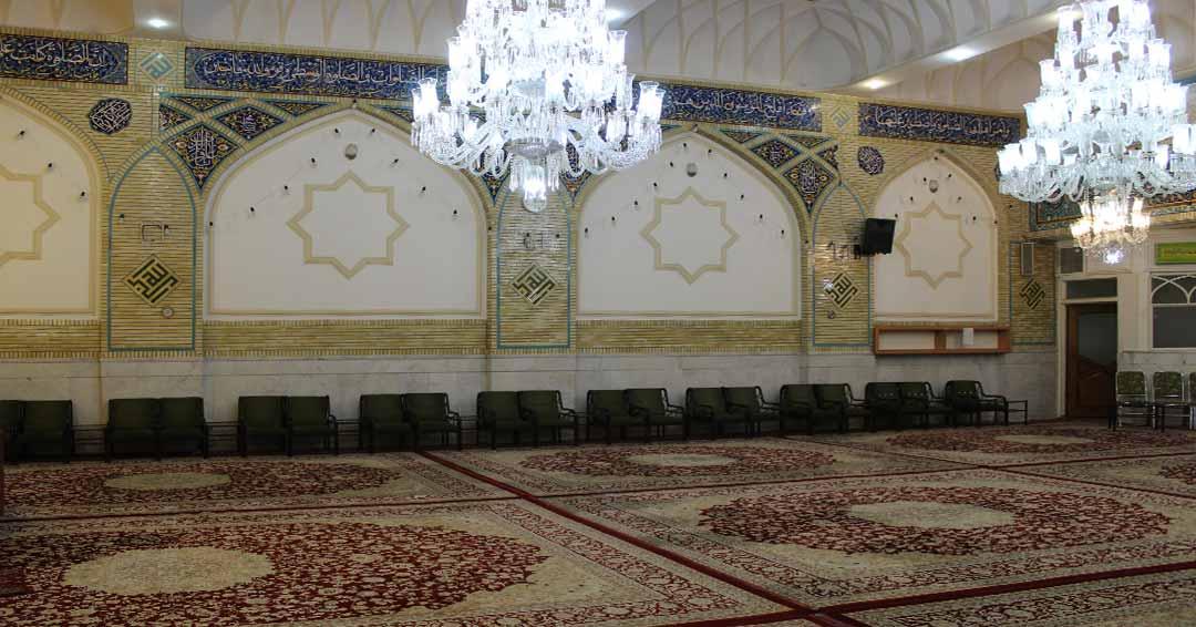 لیست مساجدوحسینیه های مشهد
