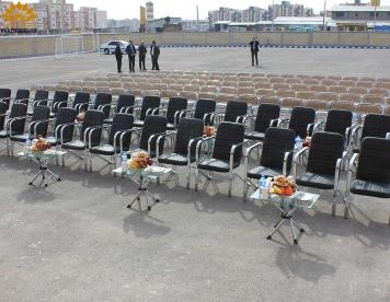 افتتاحیه مدرسه امیرکبیر در شهر گلبهار