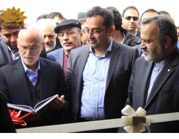 افتتاحیه رستوران دریاچه پارک گلبهار باحضور استاندار محترم