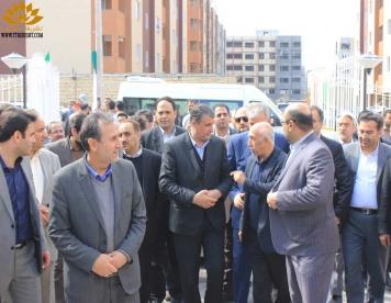 افتتاح پروژه مسکونی 1011 واحدی شهر جدید گلبهار