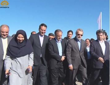 مراسم افتتاحیه سایت جدید کارخانه فولاد تربت حیدریه