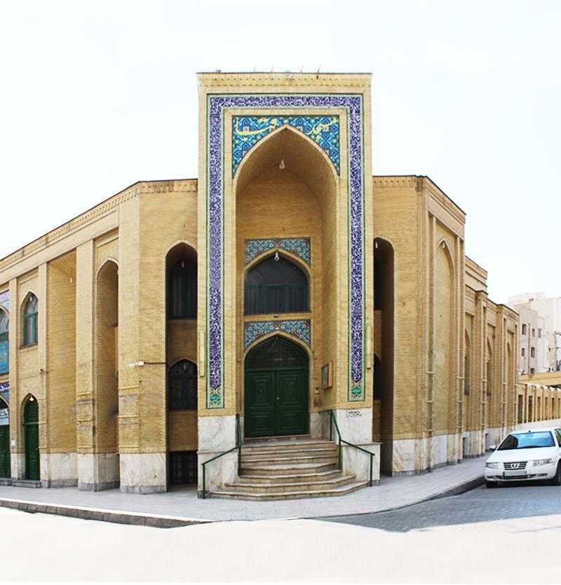 رزرو مسجد قبا-مشهد