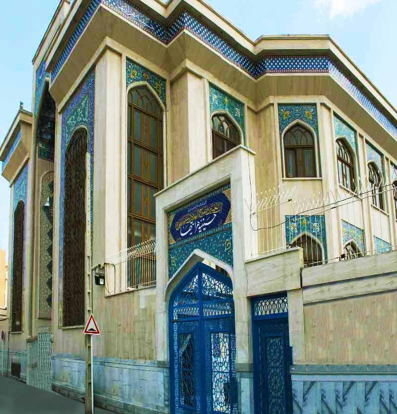 رزرو مسجد هراتی ها مشهد