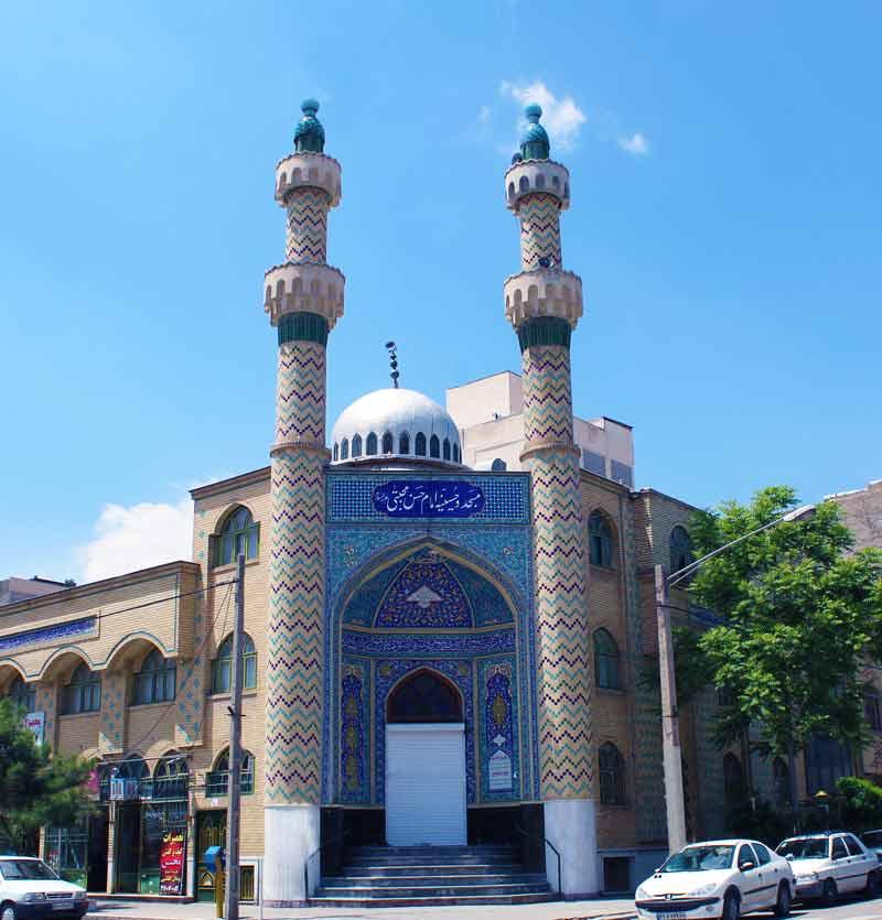 رزرو مسجد امام حسن مجتبی بلوار امامت