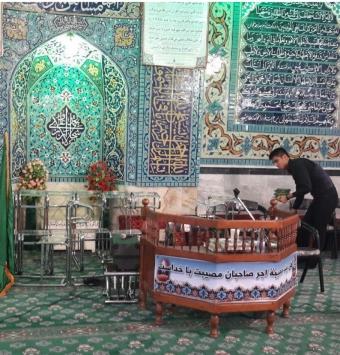 مسجد رضوی-بلوارپیروزی مشهد